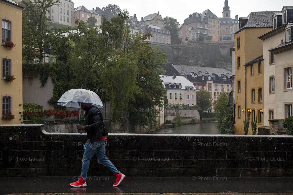 Rain in Luxembourg