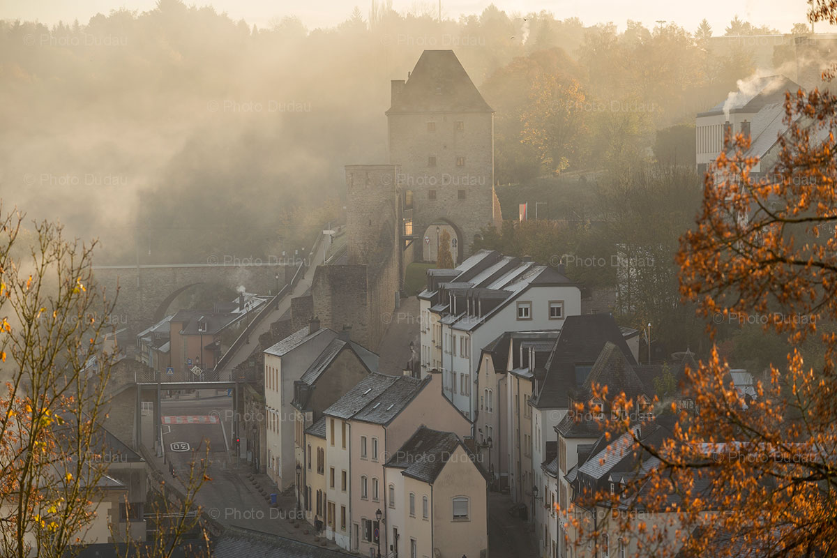 Rham Plateau in Luxembourg city
