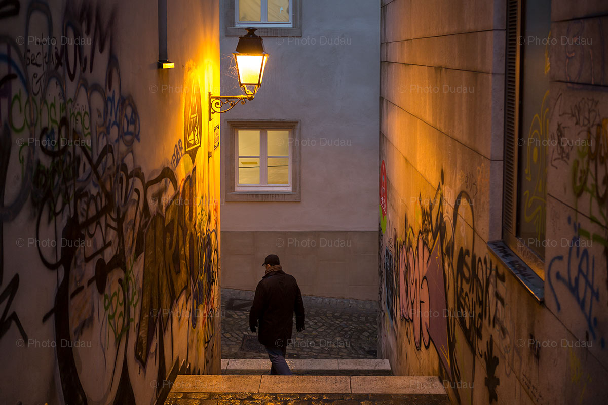 Street scene in Luxembourg