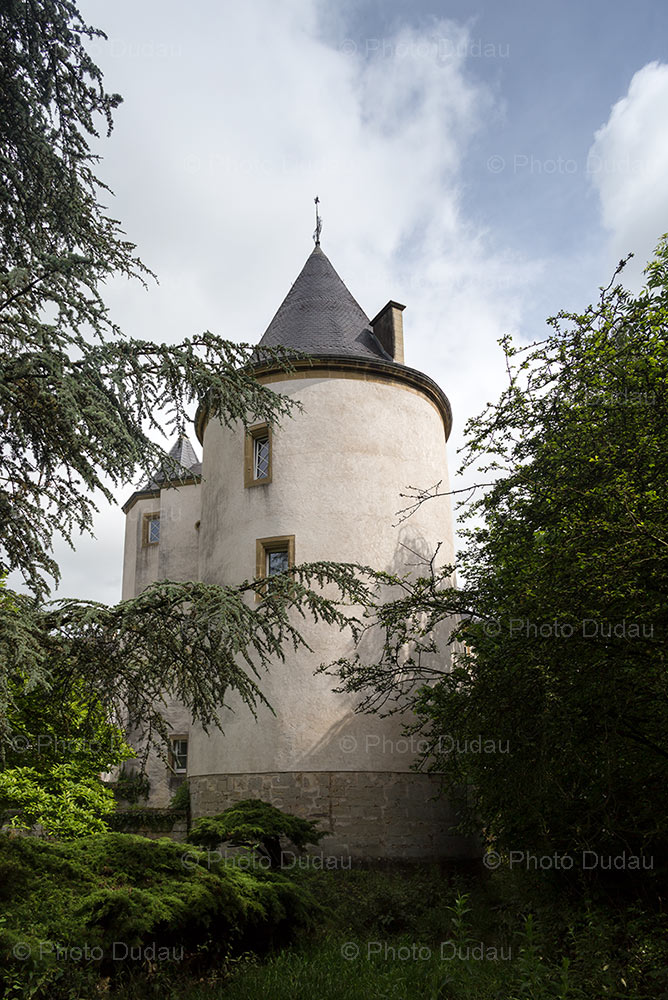 Castle Sanem in Luxembourg