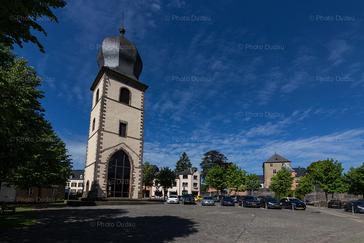 St Michel Tower in Mersch