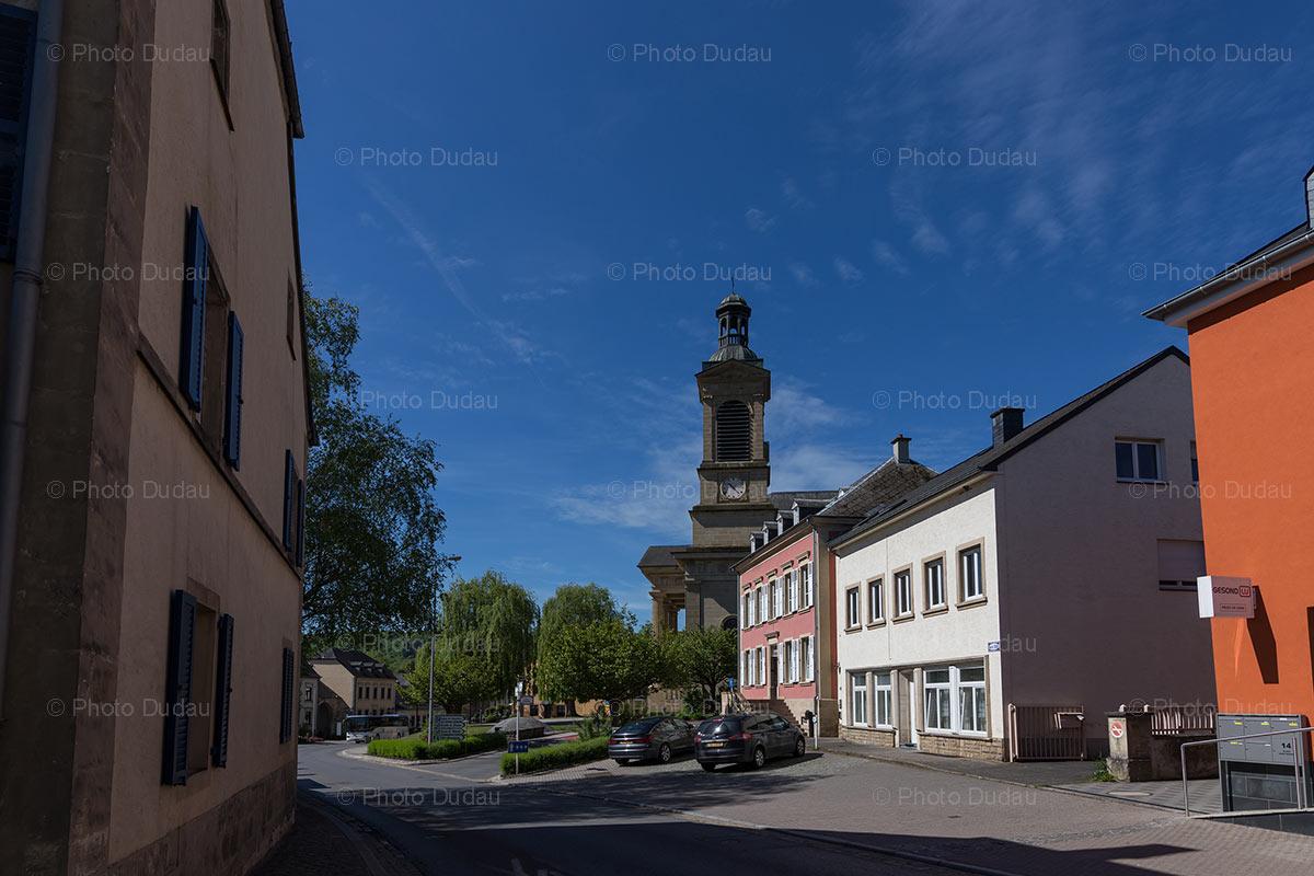 Mersch town