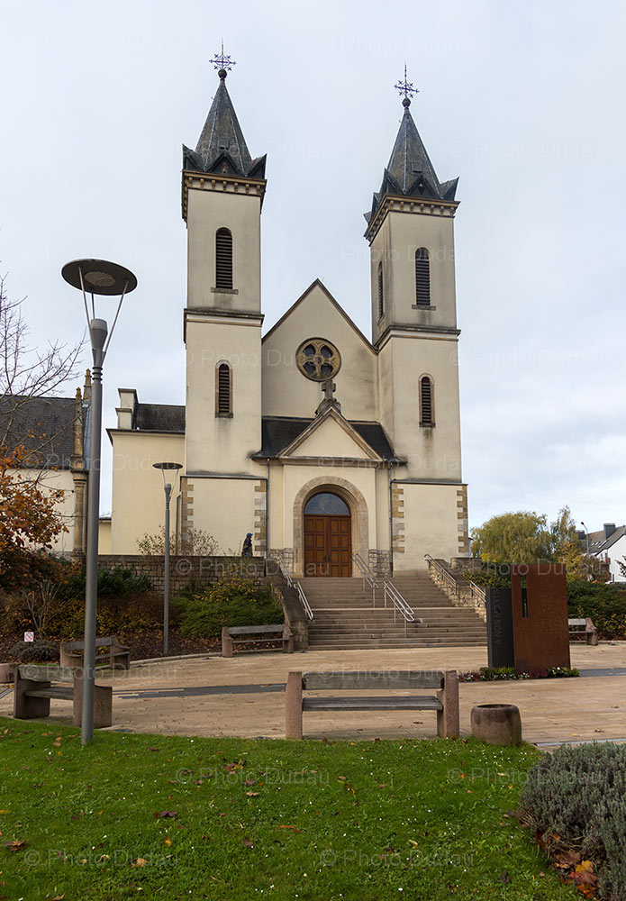 Church in Mamer, Luxembourg