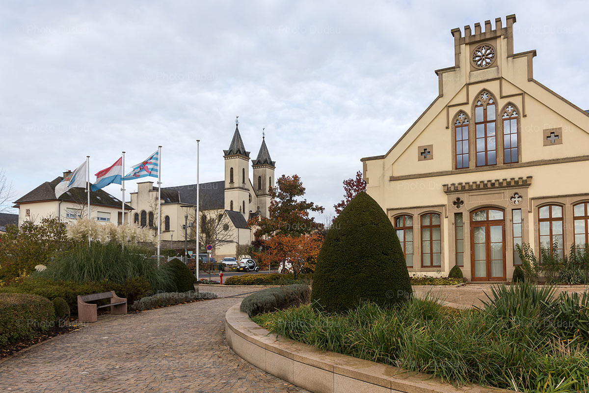 Mamer town in Luxembourg