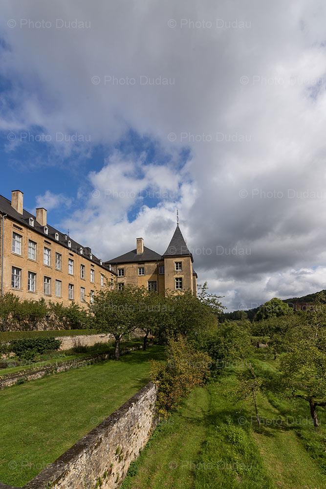 Castle of Ansembourg in Luxembourg