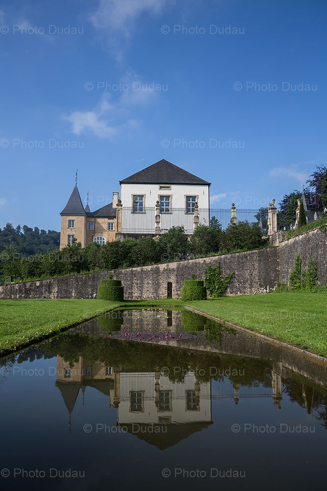 New Castle of Ansembourg garden