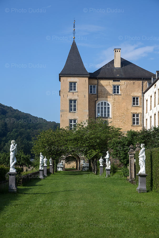 Ansembourg Castle in Luxembourg