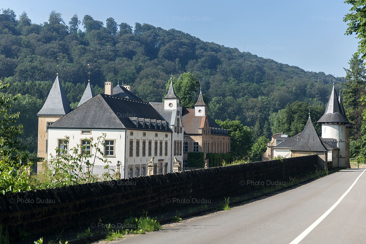 New Castle of Ansembourg street view