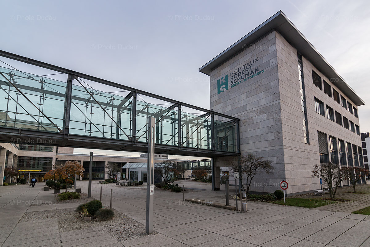 Kirchberg Hospital in Luxembourg city