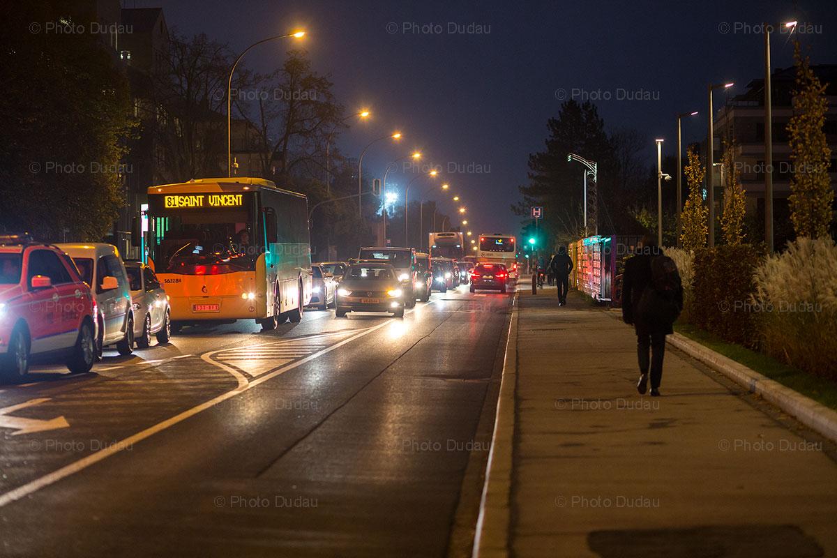 Traffic on route Arlon