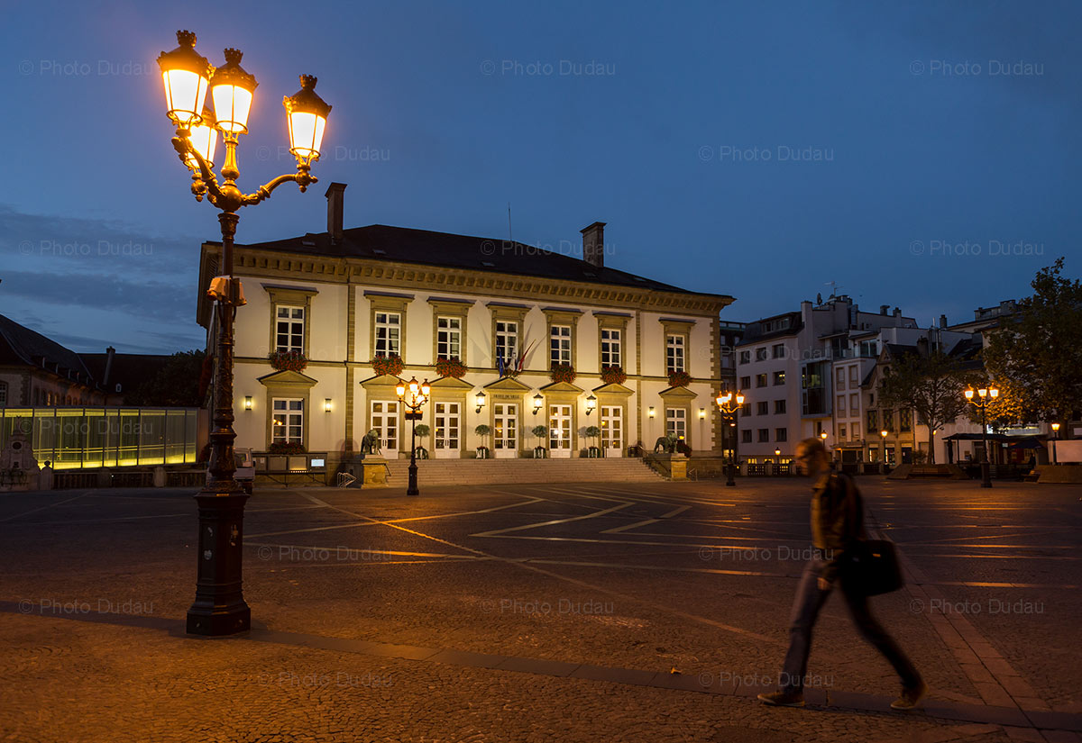 Place Guillaume II - Luxembourg cityhall