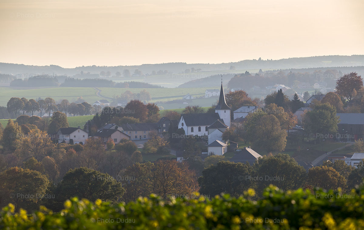 Lullange village in Luxembourg