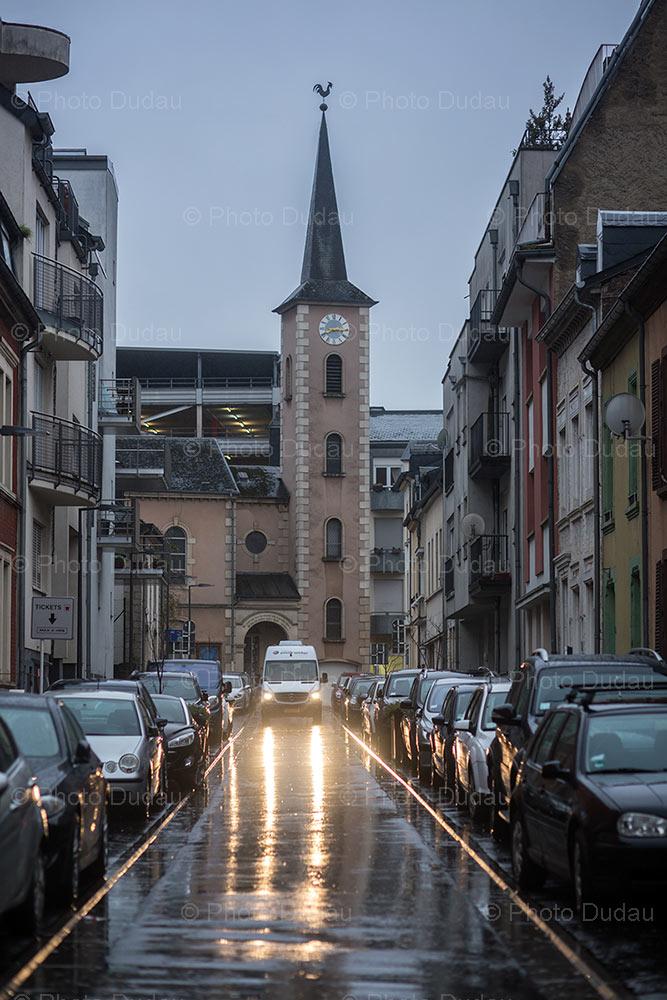 street in Esch-sur-Alzette