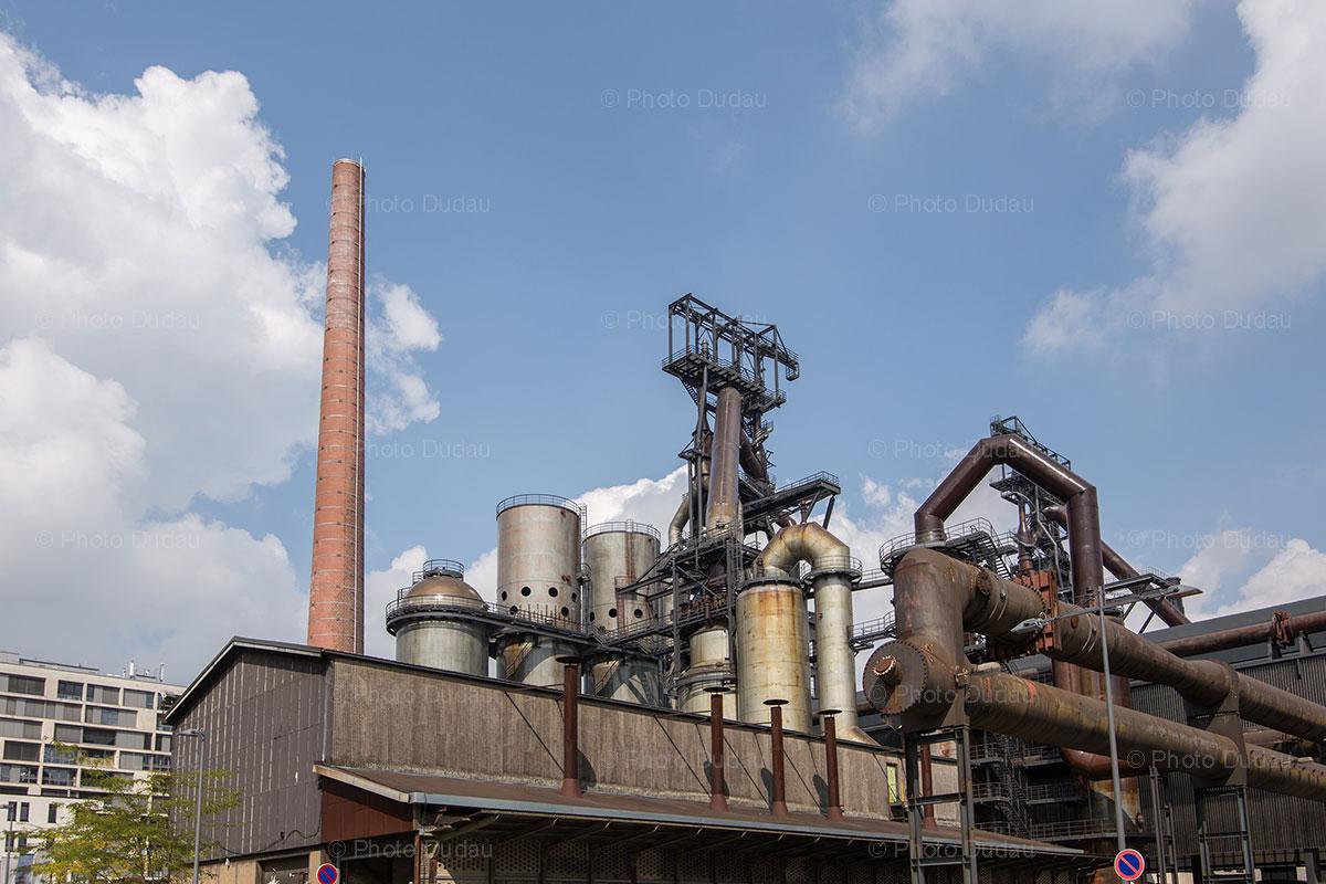 furnace in Belval, Esch-sur-Alzette