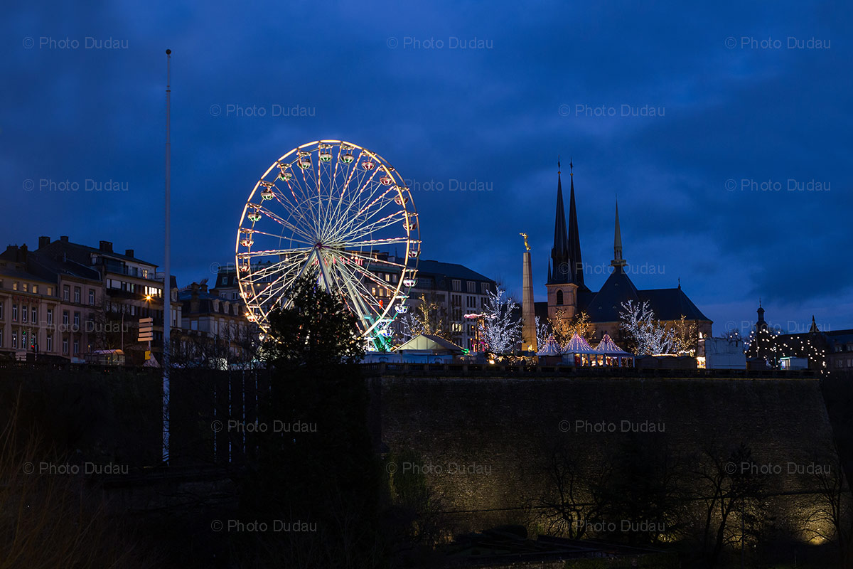 luxembourg city christmas market