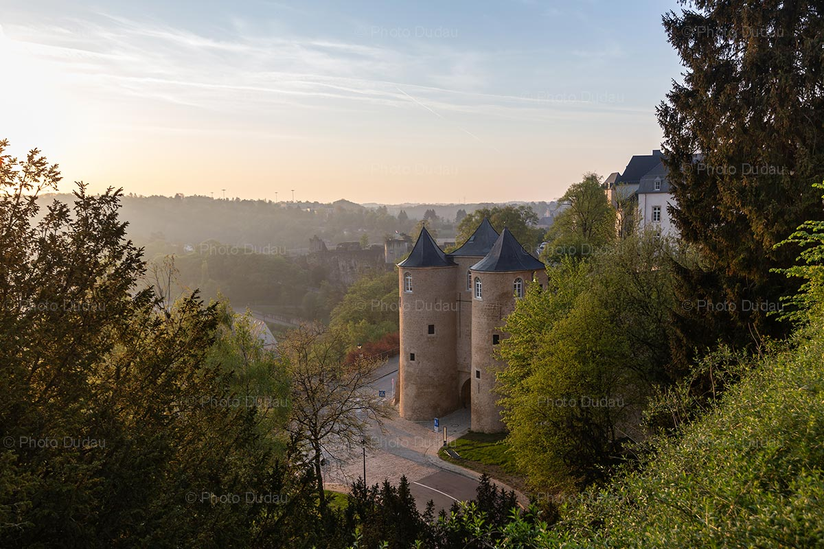 Three Towers Gate in Luxembourg city