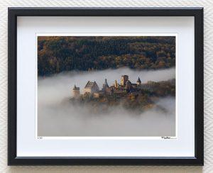 Art Print Bourscheid Luxembourg