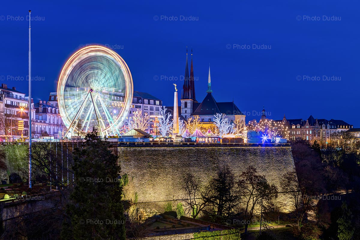 Christmas market Luxembourg city