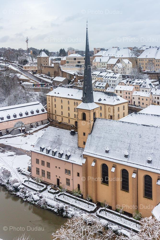Abbaye de Neumunster in winter