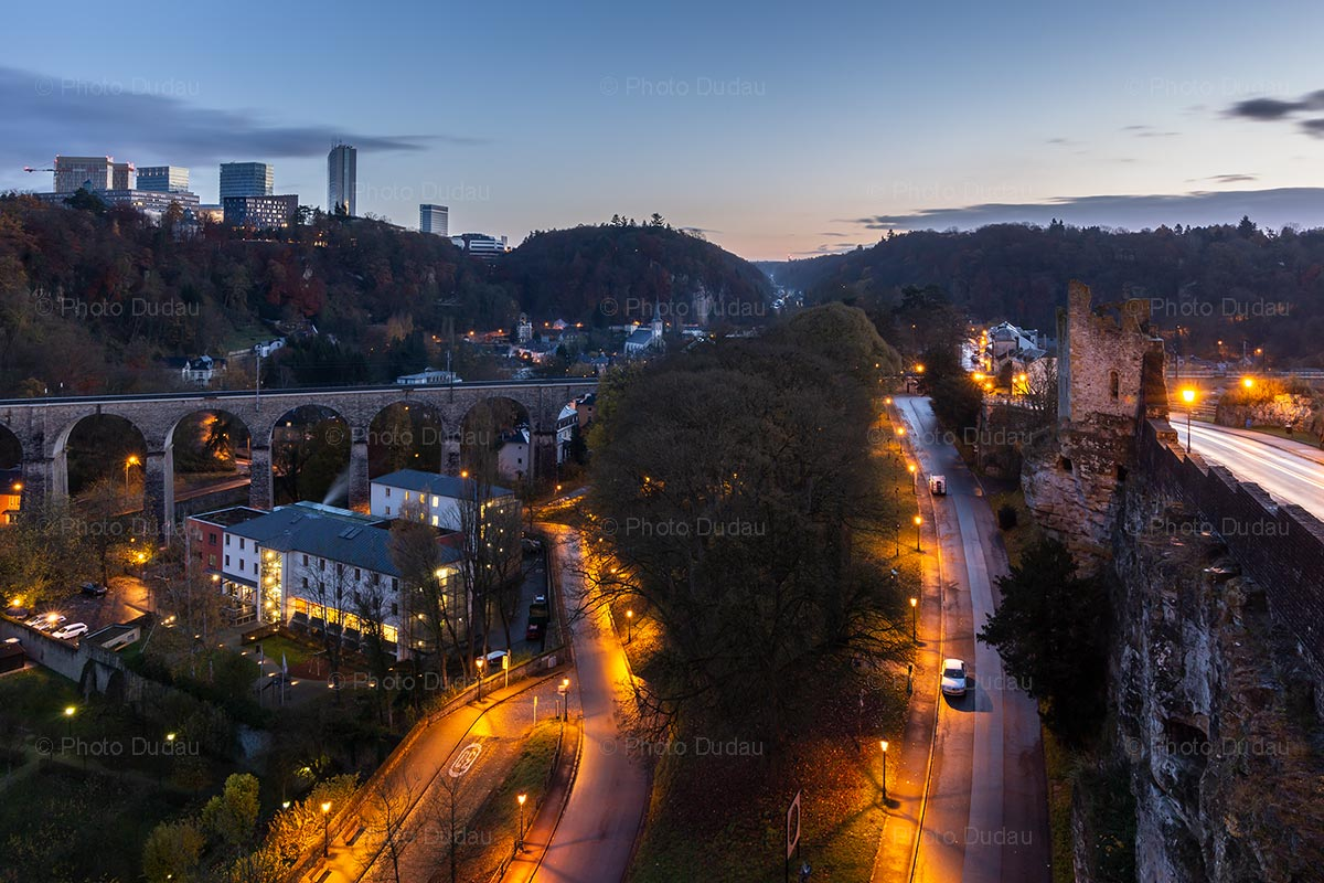 Evening in Luxembourg