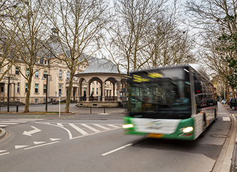 Bus in Dudelange