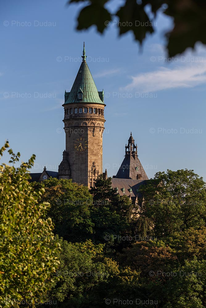Spuerkeess Tower in Luxembourg