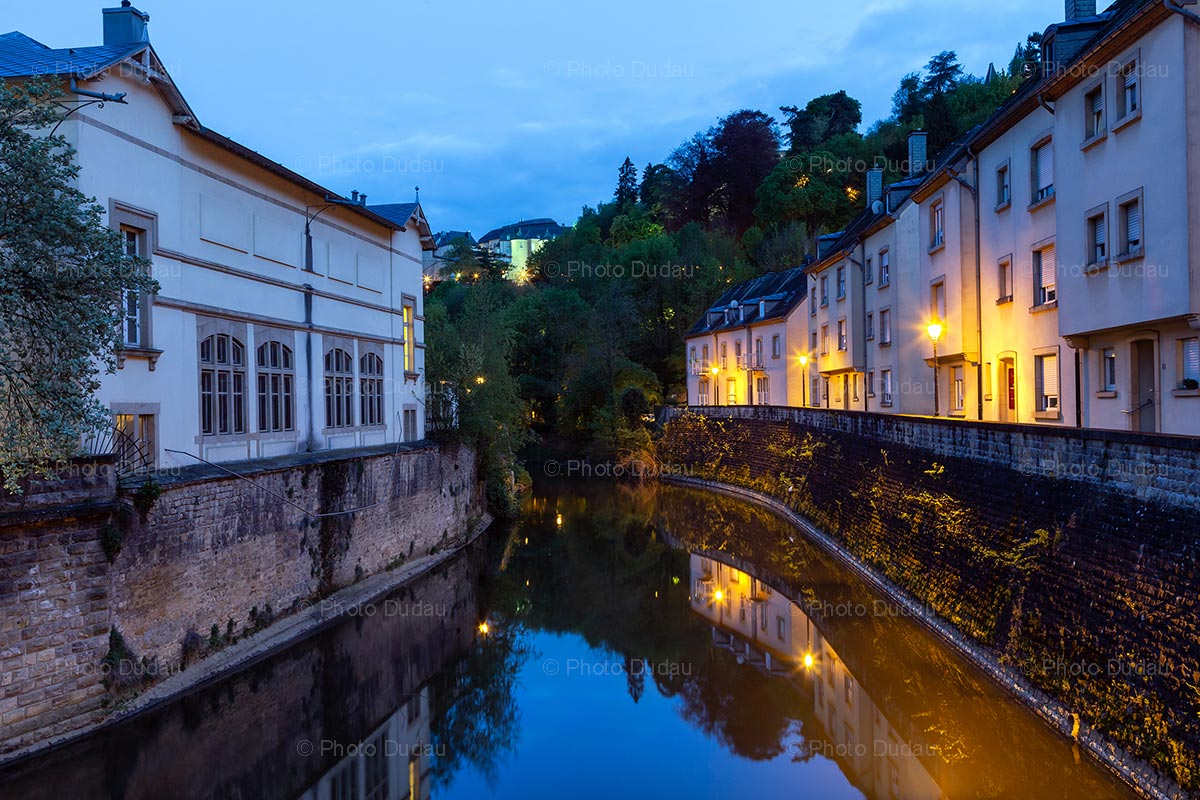 Night in Pfaffenthal Luxembourg