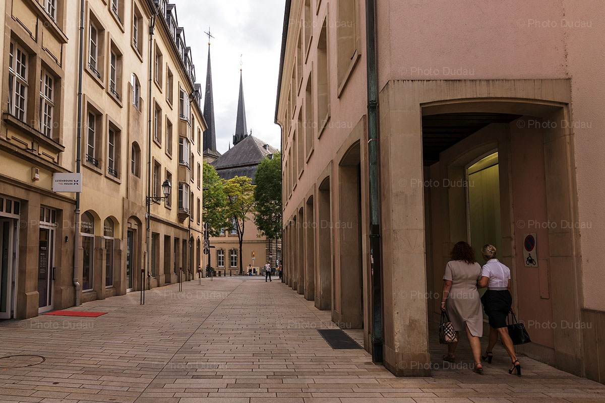 Downtown Luxembourg