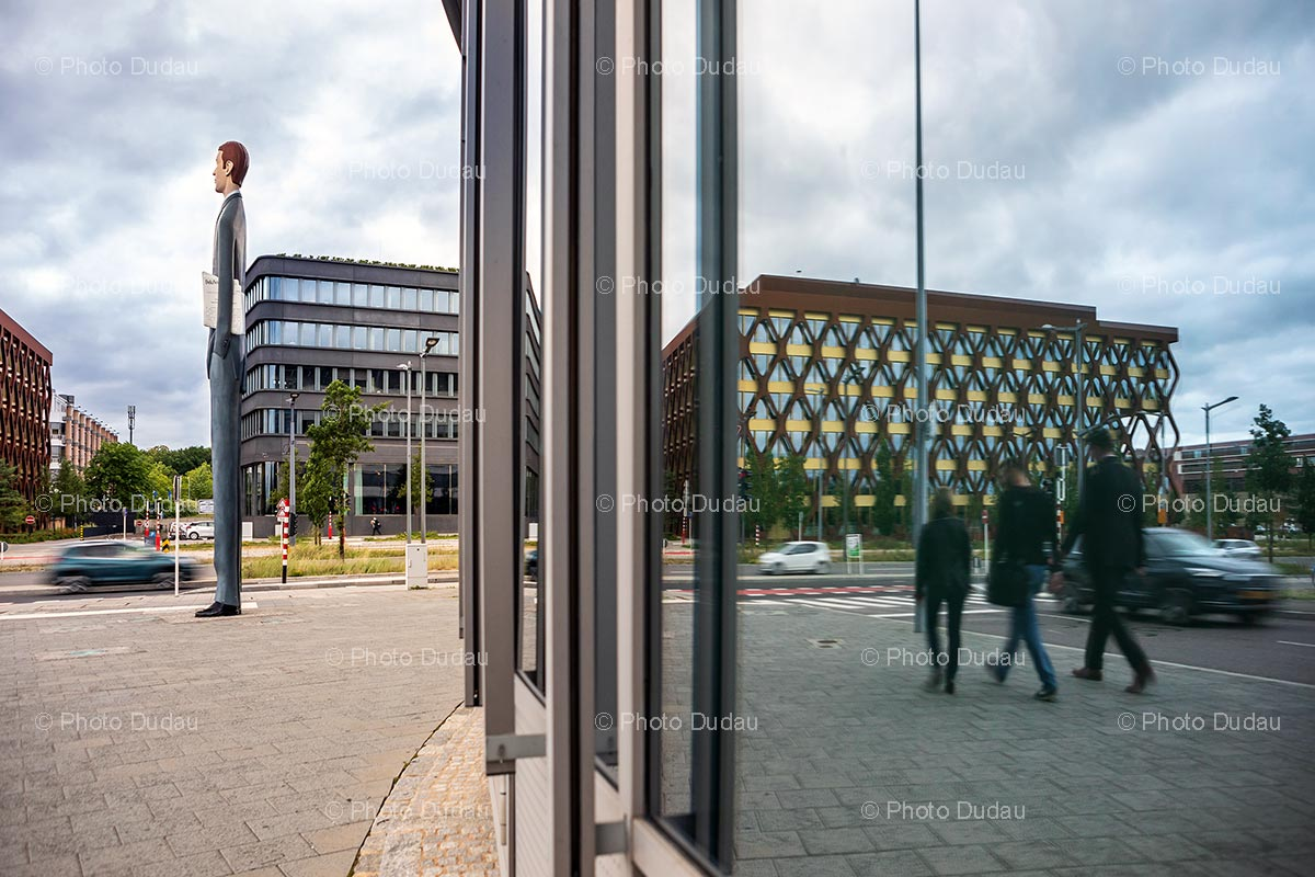 Office buildings in Kirchberg