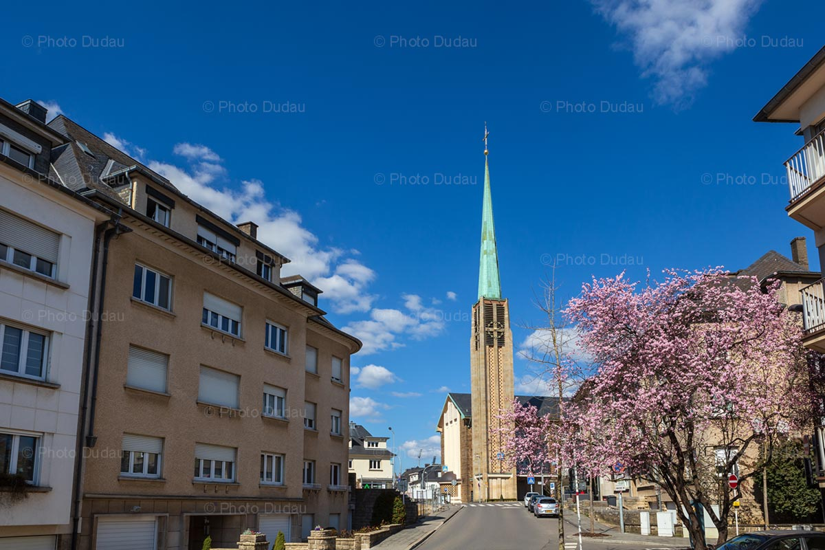 Spring in Belair, Luxembourg