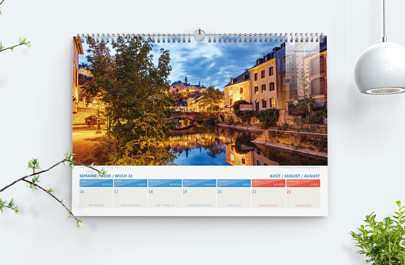 luxembourg 2021 calendrier