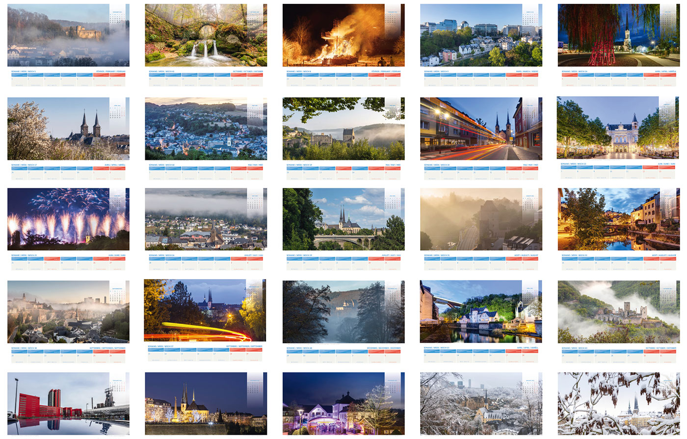 luxembourg calendar 2021