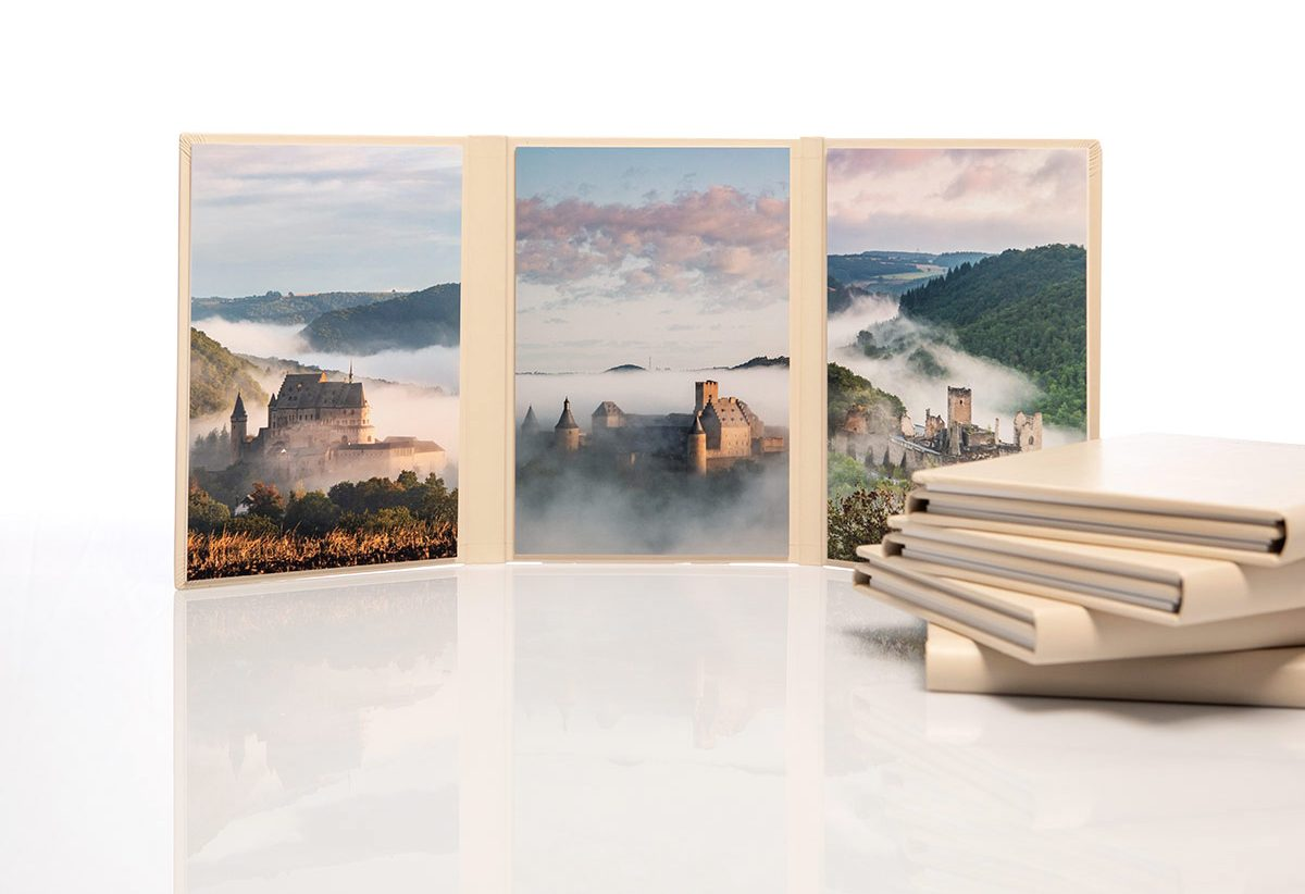 Luxembourg Castles Trilogy Print
