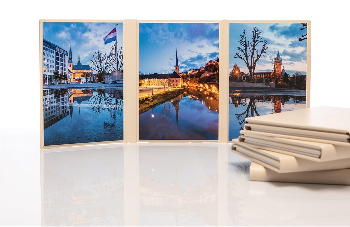 Luxembourg night trilogy print