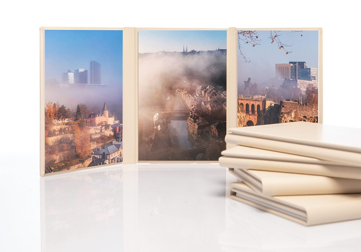 Misty Luxembourg trilogy print