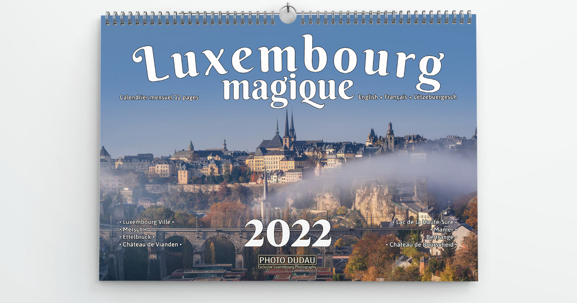 Calendrier Luxembourg Magique 2022