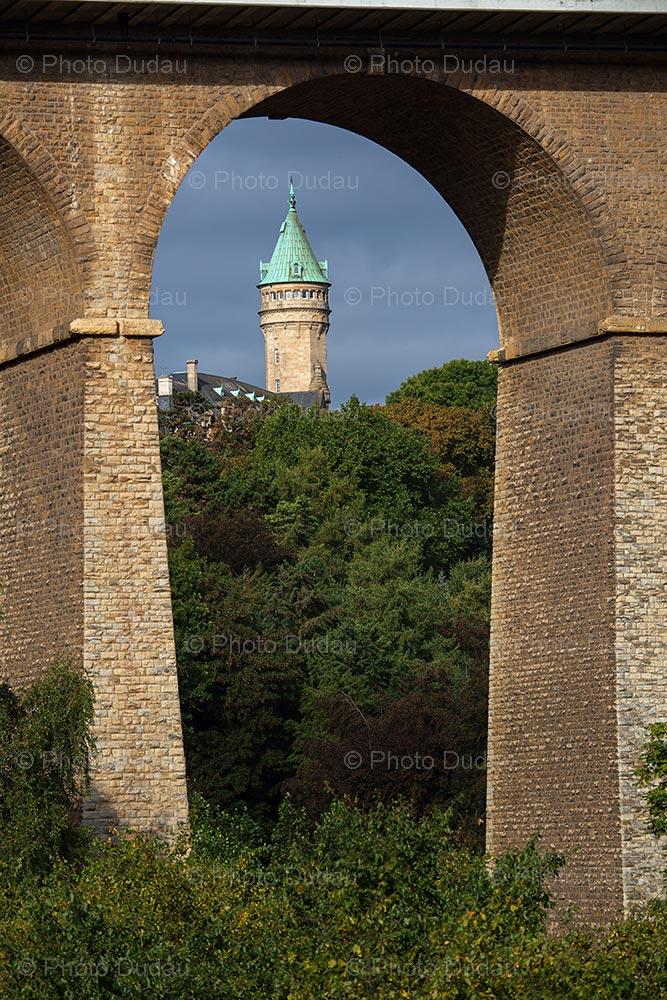 Spuerkeess Tower in Luxembourg