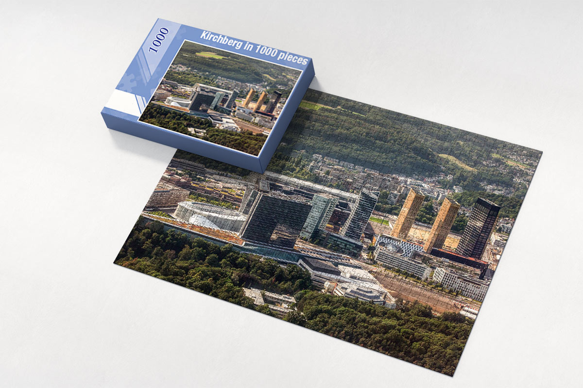 kirchberg luxembourg puzzle